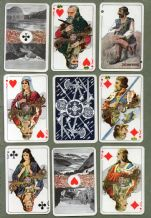 Collectible playing cards Iceland Islenzk Spil